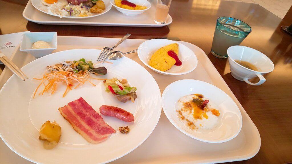 アラマハイナコンドホテル朝食