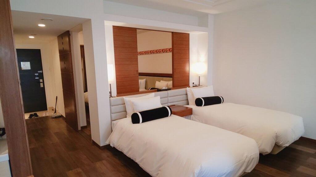 アラマハイナコンドホテル部屋ベッドその2
