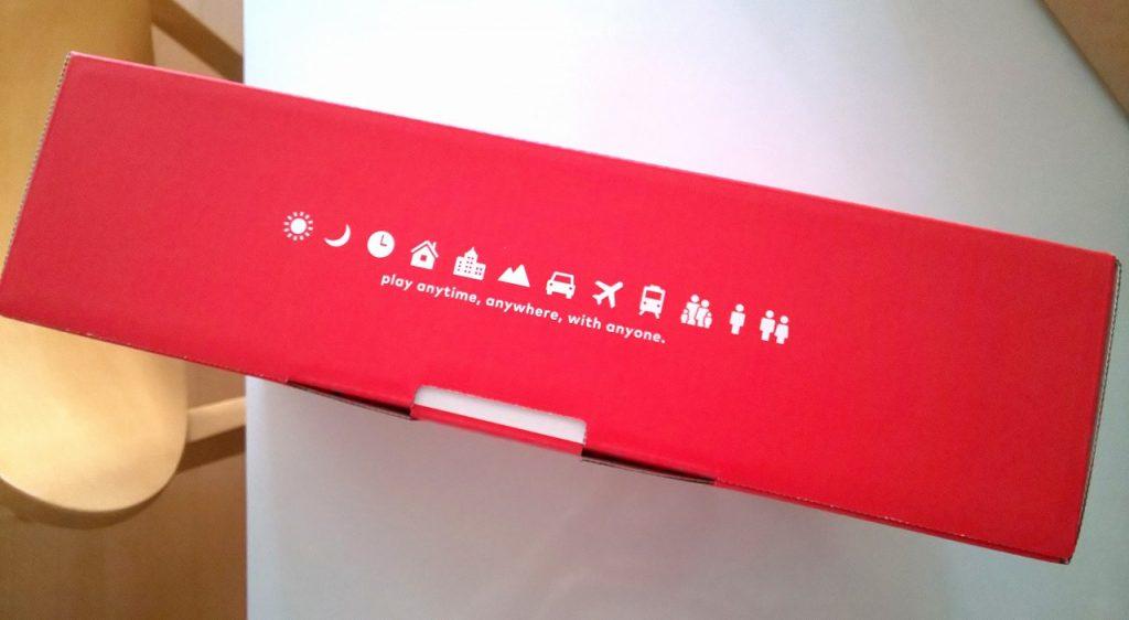 ニンテンドースイッチ外箱横